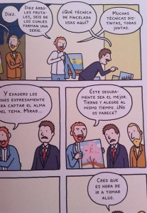 Vincent van gogh comic