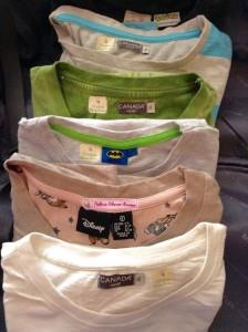 marcar la ropa de los niños