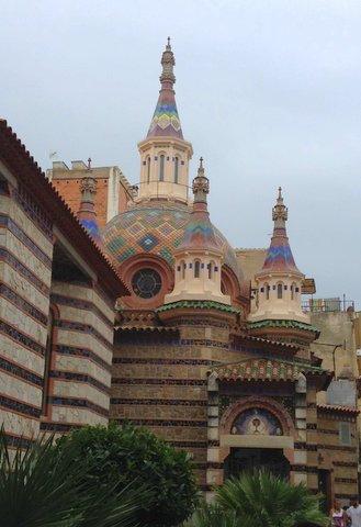 Capilla modernista, Lloret de Mar