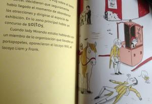 El cowoy Pug. ilustraciones