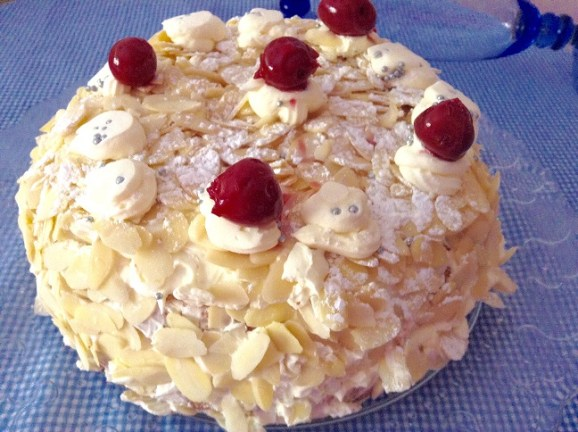 Tarta Sara, mantequilla