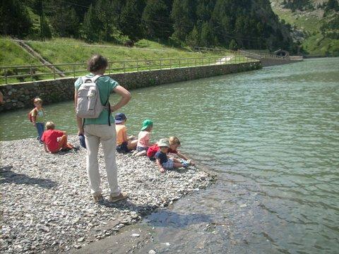 Vall de Nuria, Vacances familia