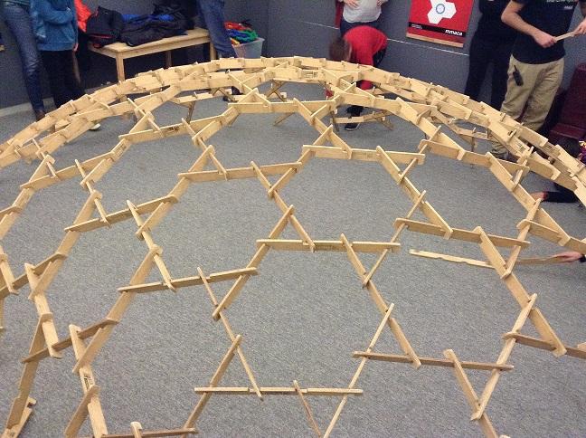 Construyendo cúpulas de Leonardo