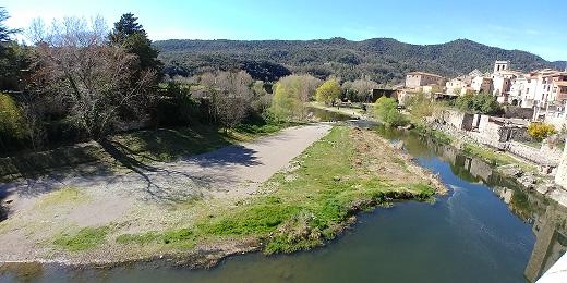 Besalú, río Fluviá