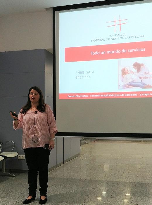 Dra. Amalia Arce, Hospital Nens Barcelona