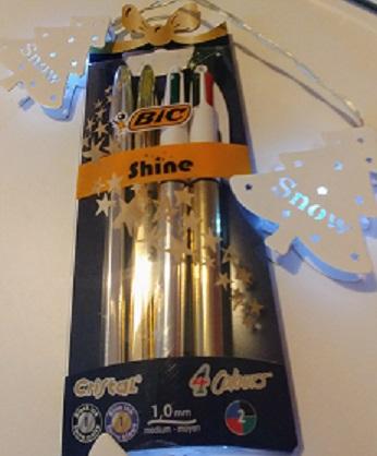 Bolígrafos Bic shine