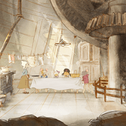 Ernest & Celestine, contes d'hivern escena