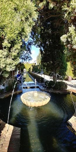 Generalife, jardines