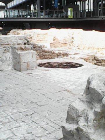 Centre Cultural del Born el yacimiento