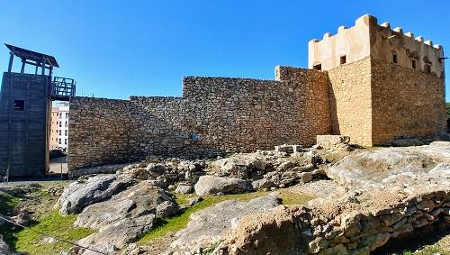 Ciutadella Ibérica de Calafell. Vista general