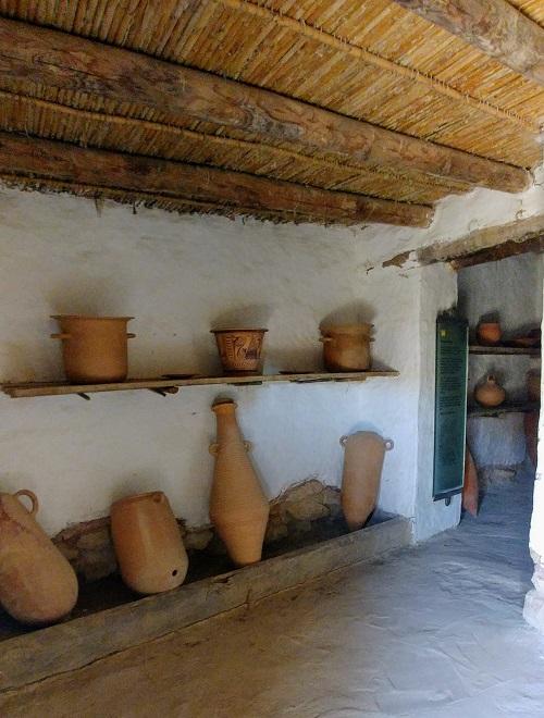 Ciutadella Ibérica, Calafell. Interior de vivienda