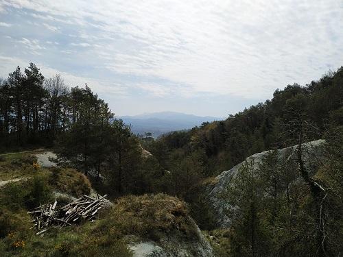 Castell de Gurb, vistas