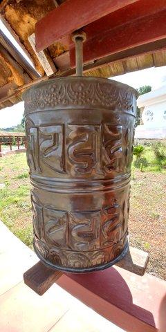 Detalle Estupa Monasterio Budista del Garraf