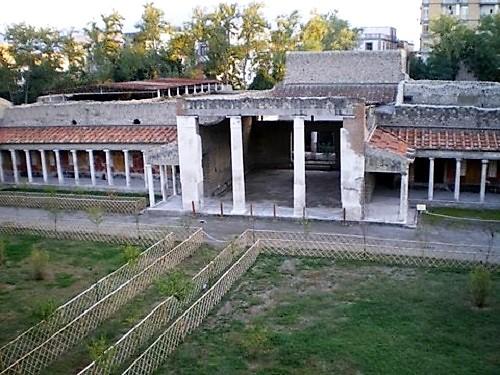 Vista general de la Villa de Popea