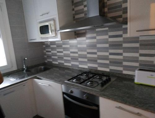 Cocina del apartamento Rodeiramar 2A