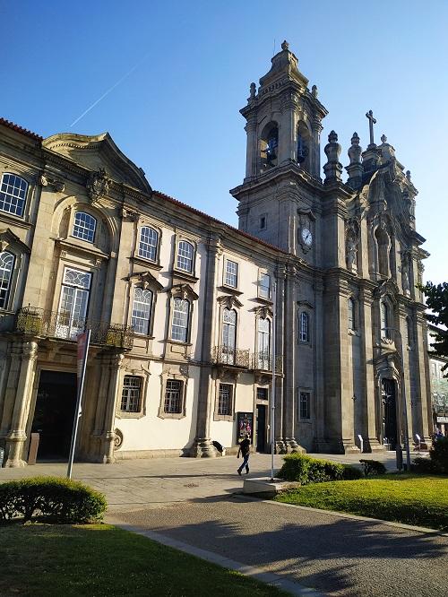 Fachada del Convento dos Congregados, Braga