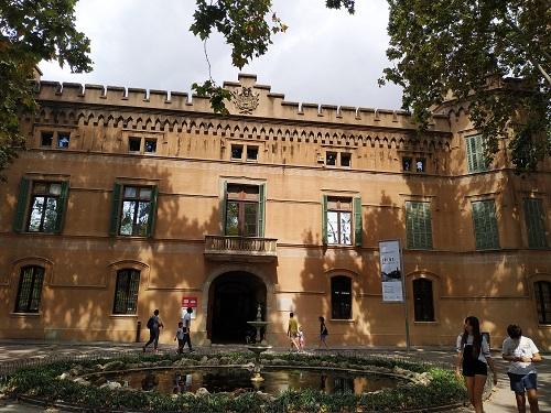fachada Museu Palau Mercader