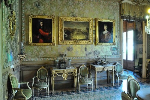 Salas nobles del Museu Palau Mercader