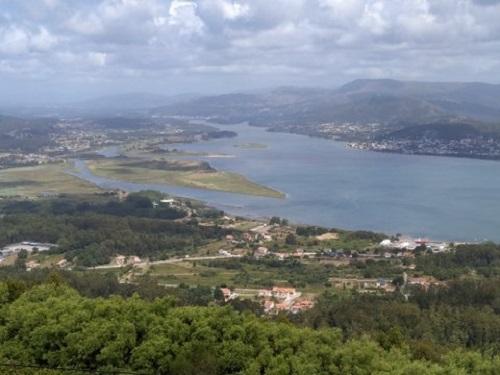 Vistas a guarda Galicia