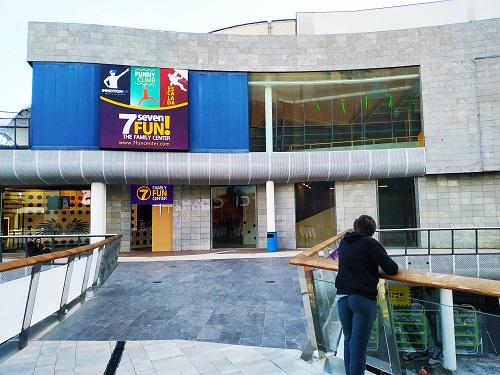 Fachada 7Fun Barcelona