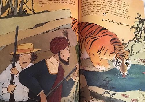 Mujeres exploradoras ilustraciones