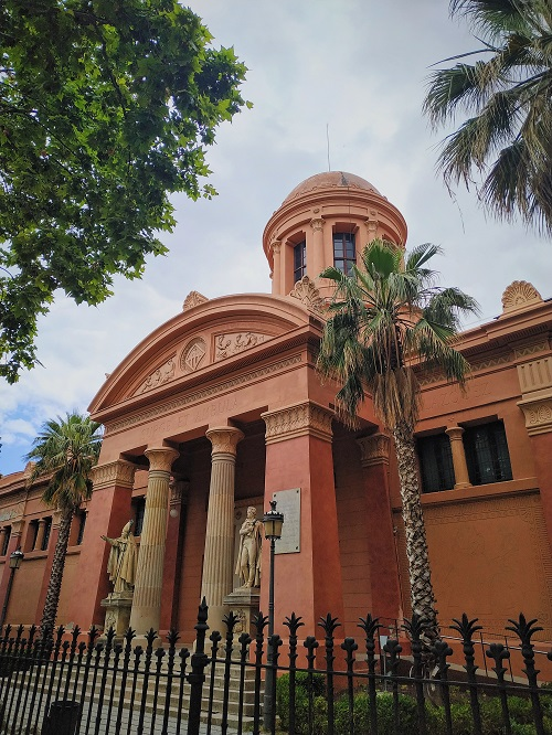 Fachada del Museo Víctor Balaguer