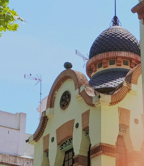 Can Magrinya, cúpula negra