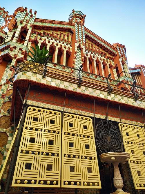 Fachada de la Casa Vicens, Barcelona