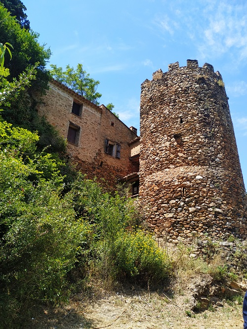 Castillo Vizcondal, Castellnou