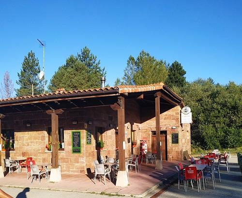 Bar restaurante, camping Puerta de la Demanda