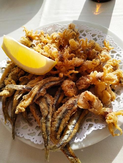 Pescado frito, Sitges