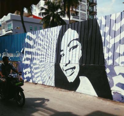 Mural, Chifumi Krohom, outside Elbow Room