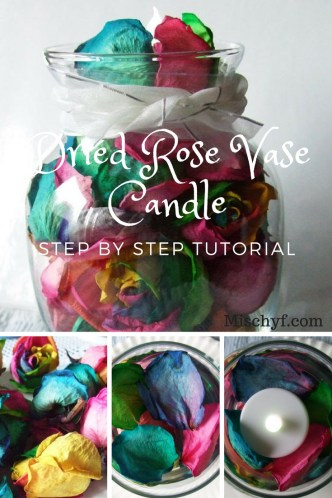 How to create a beautiful dried rose vase