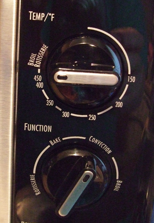 new oven buttons