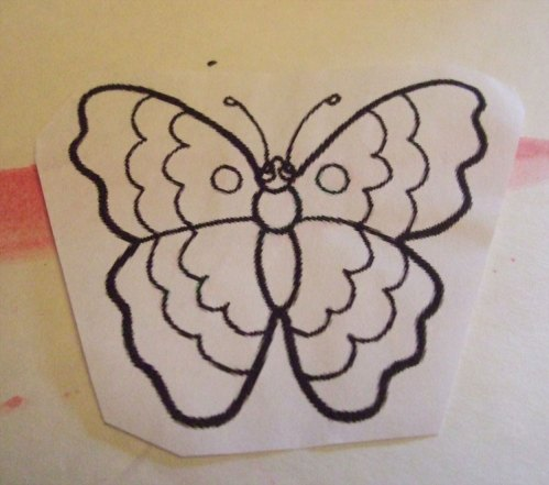 Print a clipart design you like and use it as a stencil.