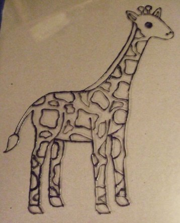 giraffe-outline https://mischyf.com/giraffe-birth-announcement/