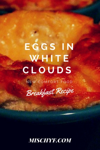 How to make eggs in white clouds.