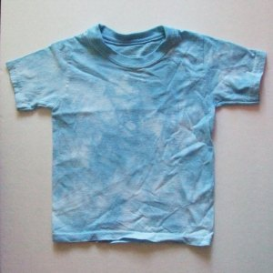 Blue Tye-dye T-Shirt