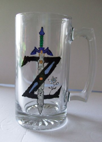 The Legend of Zelda Master Sword Stein