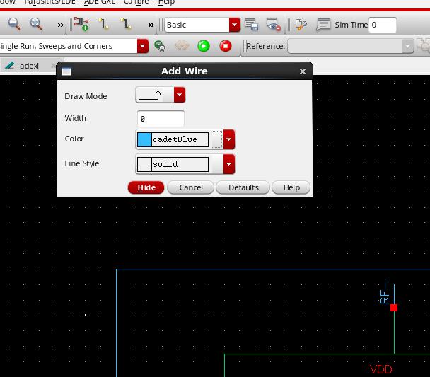 Cadence Schematic Wire Bus