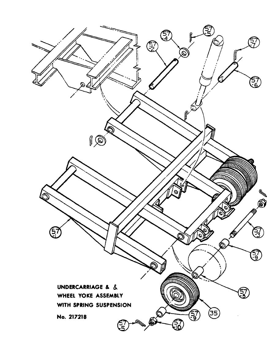 Figure 2-4. Undercarriage assembly.