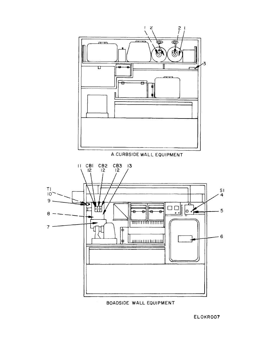 Figure 3. Shelter S-318/G (MOD) (Sheet 1 of 3)
