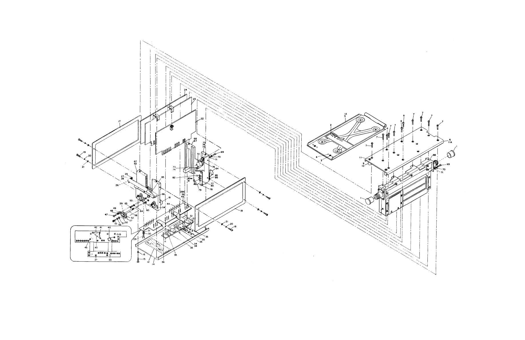 Figure 11-1. Test Set, Transponder Set TS-1843A/APX