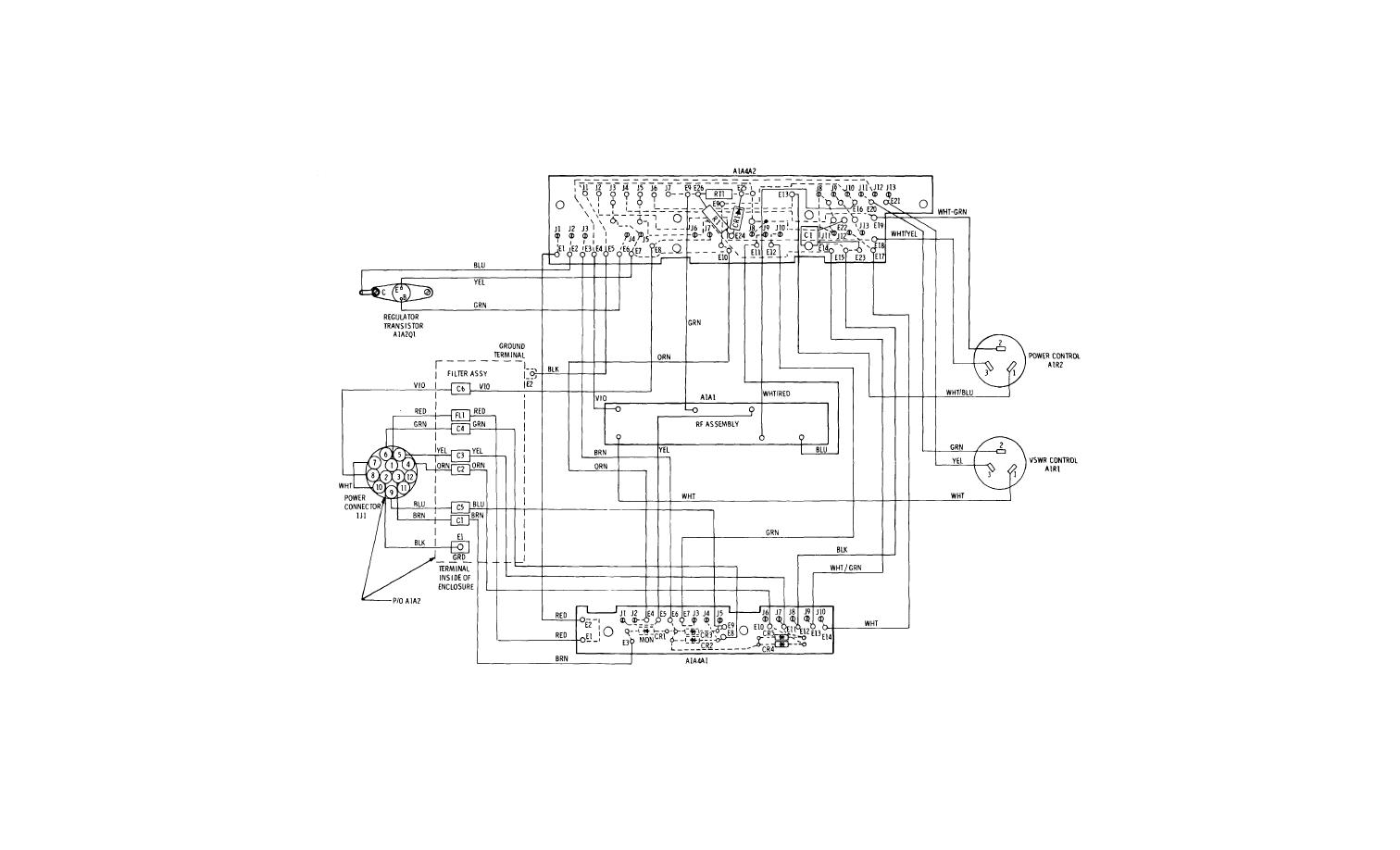 Figure Fo 6 Main Frame Assembly A1 Wiring Diagram