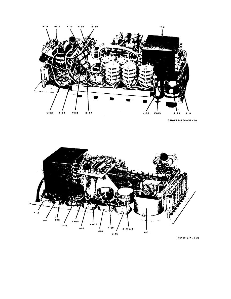 Figure 23. Test Set, Electron Tube TV­7DIU, front-right