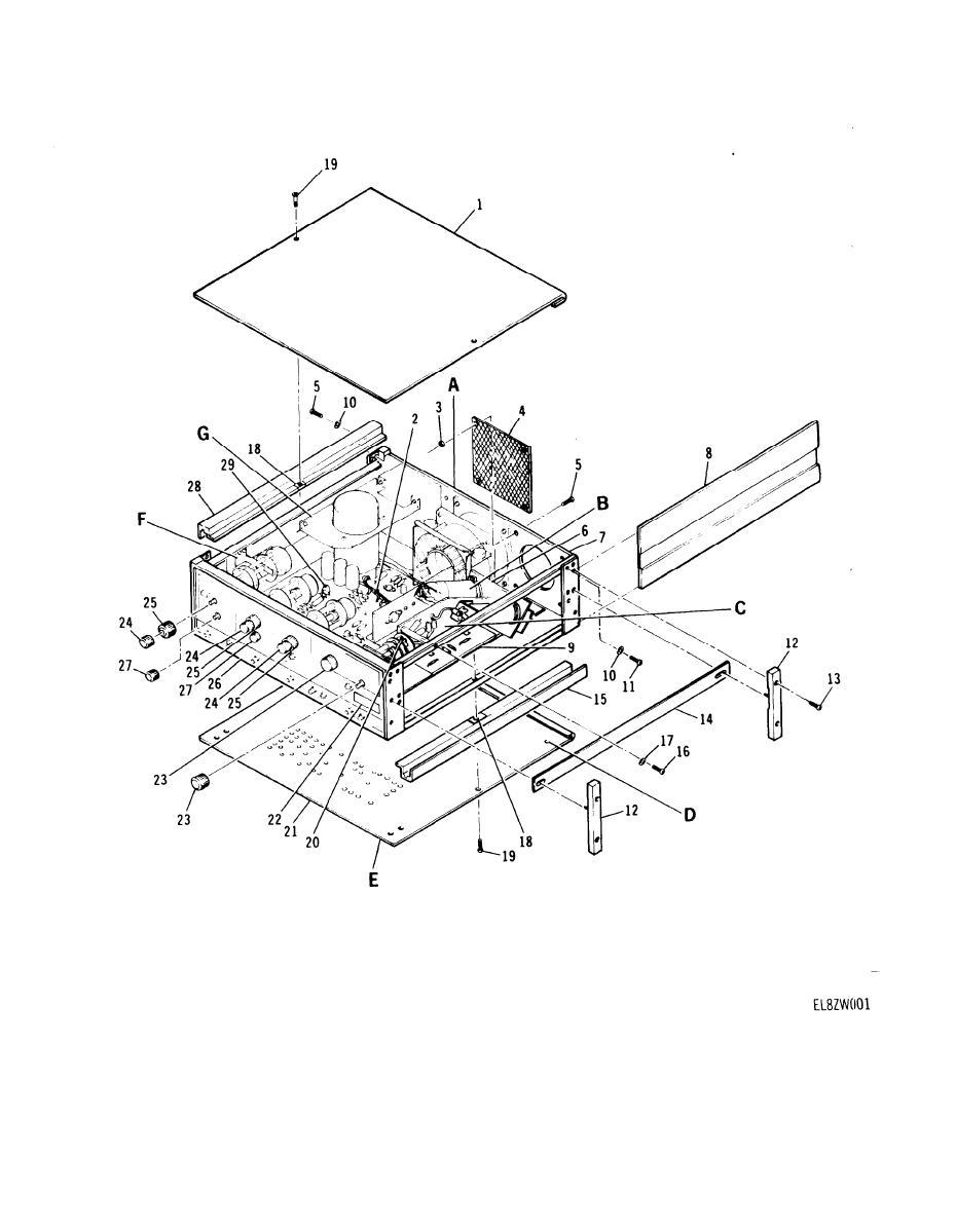 Figure 1. Pulse Signal Generator SG-1205(V)1/U (Sheet 1 of 3).