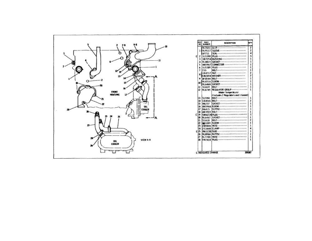medium resolution of 3126 caterpillar engine belts diagram cat c15 fan wire cat c12 cat c12
