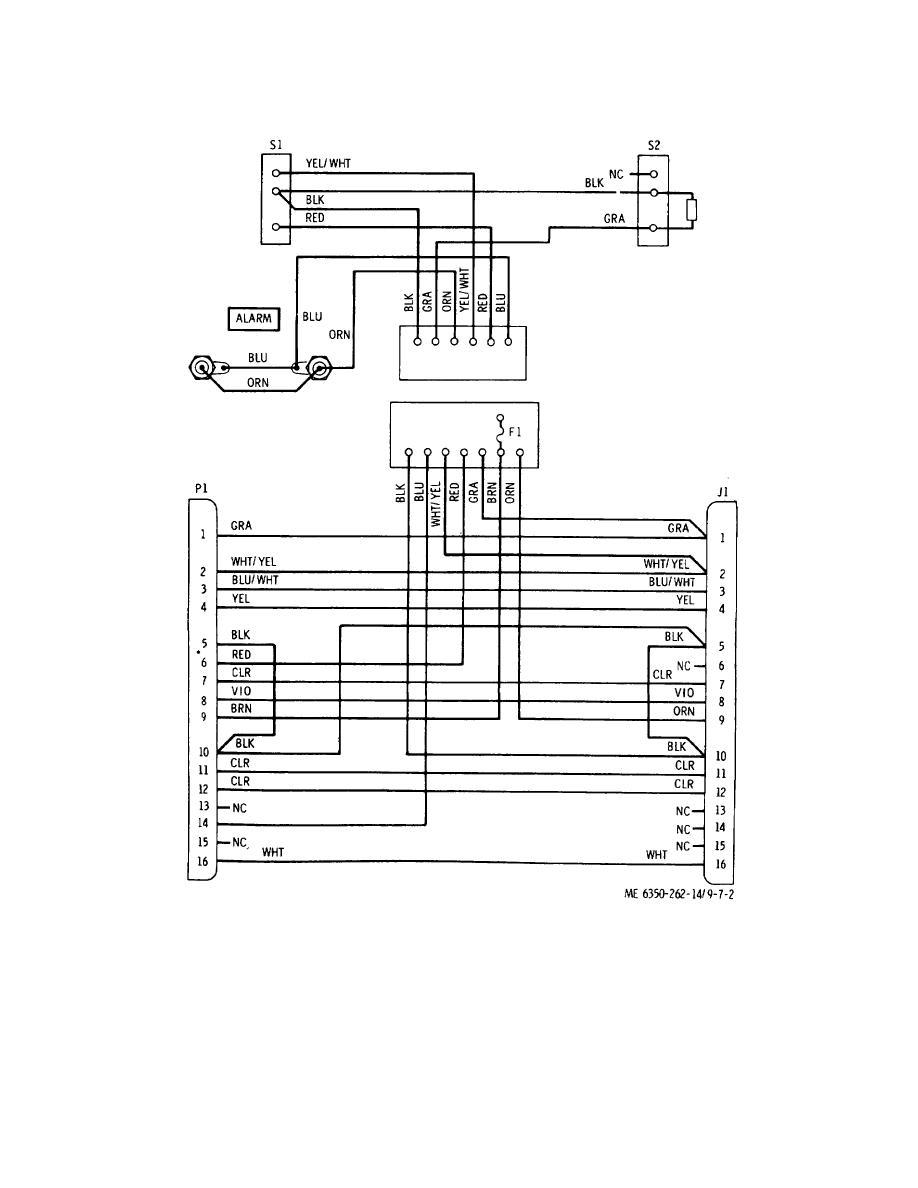 medium resolution of wiring diagram monitor module alarm