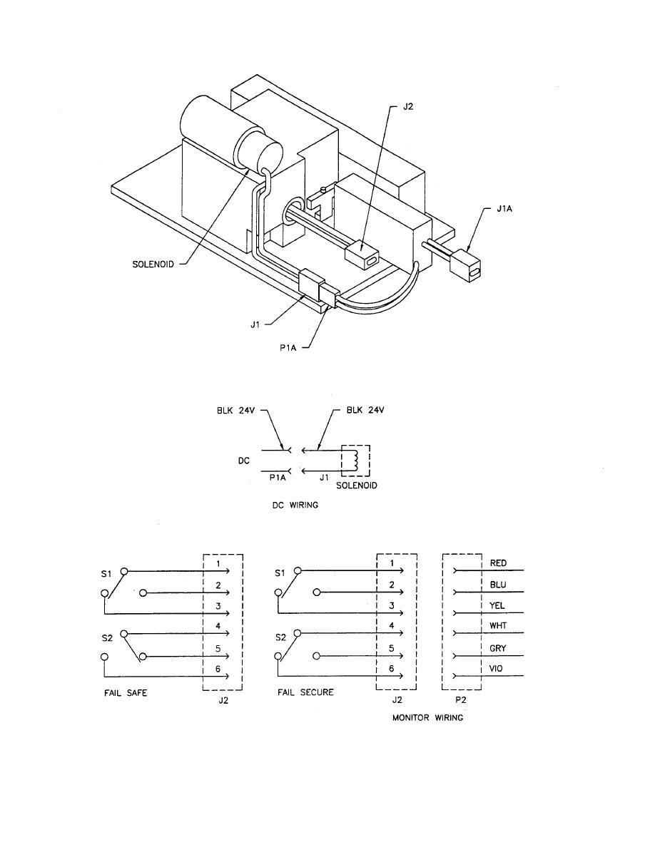 Figure 3-24. Electric Door Lock Sensor General Block Diagram