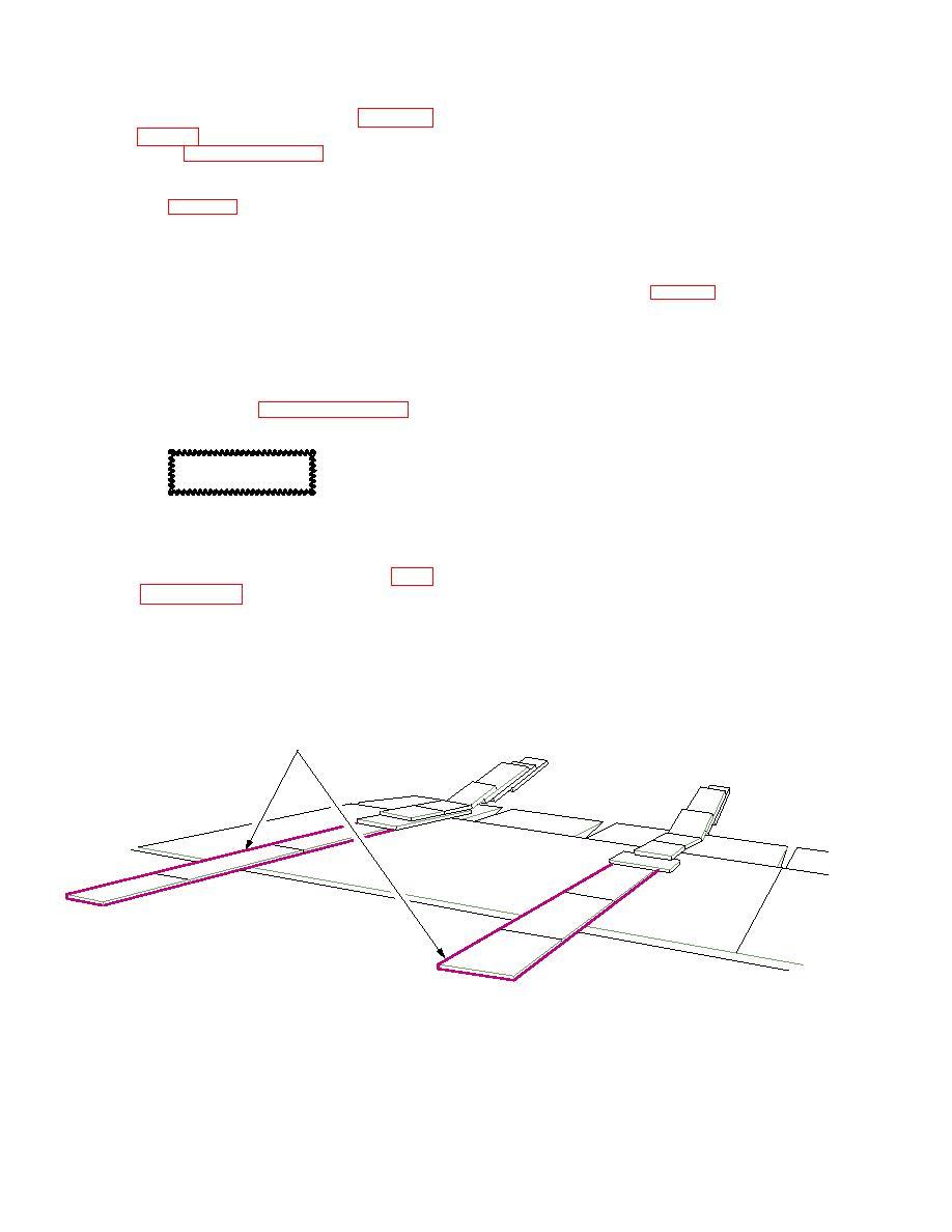 Figure 220. Main Gear Approach Shoring (Rear Door Loading)